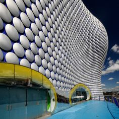 Selfridges Building, Birmingham, UK, Future Systems & Arup #architecture #arquitectura