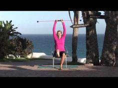 Bauch Beine Po DVD FLEXI-BAR - YouTube