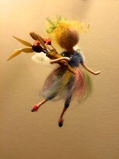 Nadel Gefilzte Fairy Morning von DreamsLab3 auf Etsy