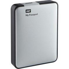 Best Buy: WD - My Passport 2TB External USB 3.0/2.0 - $99.99