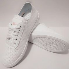 Comfortable White Hollow out Hui Li Sneakers with Pink Letter you best choice for School, Date, Going out, Honeymoon -TOP Design by FSJ Gifts For Girls, Girl Gifts, Leather Shoes, Pu Leather, Flat Shoes, Shoes Heels, Flats, Festival Girls, Long Boots