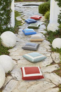 LACEFIELD   Lacefield Pillows with Trim   Lacefield pillows are well known in the industry for their sophisticated styling, globally inspired designs, and fashion forward details. #HPmkt