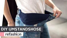 DIY: Umstandshose selber machen ~ refashion | OTTO