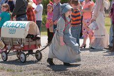 Pre-K student Savannah Delozier prepares her covered wagon during Oklahoma Land Run activities at Vanoss School, Apr 22, 2014 https://photos.smugmug.com/Journalism/2014/News-April-2014/i-b3c7FqB/0/93ad0784/M/Vanoss%20Land%20Run%2004-22-14d-M.jpg