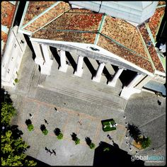 The entrance of St. Pierre Cathedral in Geneva Panorama 360, Aerial View, Entrance, Sony, Cathedral, Travel, Entryway, Viajes