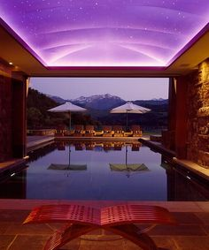 50 Amazing Indoor Swimming Pool Ideas For A Delightful Dip! The Effective Pictures We Offer You About fiberglass pool ideas A quality picture can tell you many things. You can find the most beautiful Luxury Swimming Pools, Luxury Pools, Indoor Swimming Pools, Swimming Pool Designs, Dream Pools, Outdoor Pool, Outdoor Spaces, Indoor Outdoor, Outdoor Living