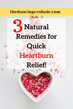 Read about 4 natural remedies that offer quick relief for heartburn! Tired of using antacids and other mainstream drugs? This article is a must read! Heartburn Symptoms, Heartburn Relief, Treatment For Heartburn, Natural Remedies For Heartburn, Medicine For Heartburn, Homeopathic Medicine, Alka Seltzer Heartburn, Heartburn During Pregnancy