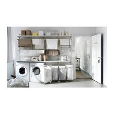 ALGOT wall rail / floors / laundry holder IKEA