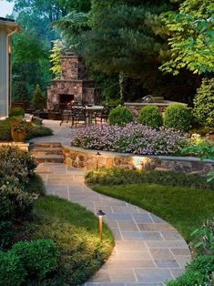 The various designs make it easy for you to adjust to the relief conditions of a backyard. The backyard landscape area adds beauty in the exterior design. Small Backyard Gardens, Small Backyard Design, Small Backyard Landscaping, Backyard Fences, Garden Design, Backyard Ideas, Landscaping Ideas, Backyard Pools, Patio Ideas