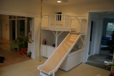 Indoor playset. And look...a G rated reason to install a pole in your home!!