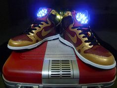 hot sale online 6a720 90b41 The most awesome trainers in the whole world custom made IRON MAN Nike  Dunks