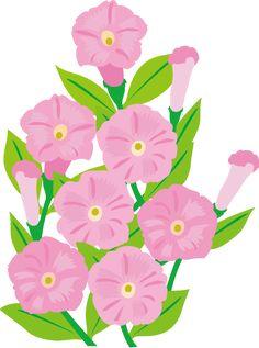 夏の花3-18-ペチュニアイラスト