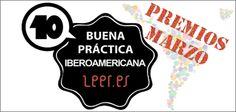 """Los Sellos """"Buenas Prácticas Iberoamericanas Leer.es"""" del mes de marzo nos proporcionan atractivas experiencias relacionadas con las alfabetizaciones múltiples."""