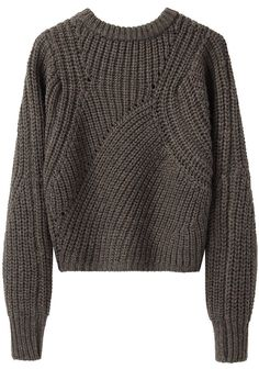 ISABEL MARANT | Tifen Cropped Pullover | Shop at La Garçonne