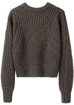 ISABEL MARANT | Tifen Cropped Pullover | Shop at La Garçonne