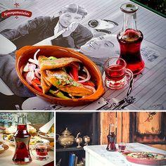 Λαχταριστά μεζεδάκια  για μεσημεριανό αλλά και  για οποιαδήποτε ώρα της ημέρας. Ελα στο Χρησιμοπωλειον και απόλαυσε μοναδικές γεύσεις μονο με 11€ Δες το μενου μας στο www.xrisimopolion.gr Thai Red Curry, Ethnic Recipes, Food, Essen, Meals, Yemek, Eten