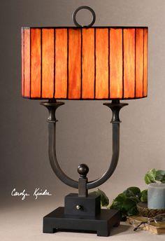Uttermost Bellevue Oil Rubbed Bronze Table Lamp 26432-1