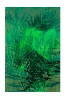 Botanical Art On Paper   Green Grass   StateoftheART