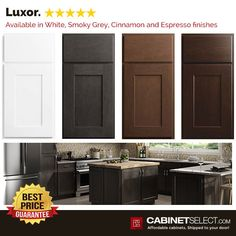 The Luxor White shaker is perfect for a traditional or contemorary decor. The wide shaker style and partial overlay, provides the charm and elegance you desire. Shaker Kitchen Cabinets, White Shaker Cabinets, Painting Kitchen Cabinets, Corner Base Cabinet, Mdf Doors, Types Of Cabinets, Thing 1, Shaker Style