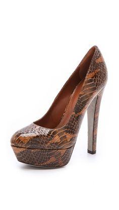 Sergio Rossi Patent Snakeskin Pumps. Sergio Rossi Patent Snakeskin Pumps.  Szilvia Hrozina · Shoes eb2f62cc996
