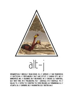 Alt-J Posters by Alexa Riddle