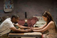 The Book of Eli movie image Denzel Washington and Mila Kunis.