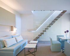 Capo Bay Hotel Duplex Garden Suite Living Room