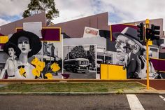 George Domahidy mural in Mt Hawthorn, Western Australia. (Image: Courtesy of Duncan Atack)