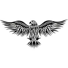 Eagle Tattoos, Tattoo Designs Gallery - Unique Pictures and Ideas Bird Of Prey Tattoo, Raven Tattoo, 1 Tattoo, Chest Tattoo, Back Tattoo, Haida Tattoo, Eagle Wing Tattoos, Tribal Eagle Tattoo, Small Eagle Tattoo