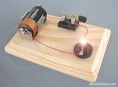 I remember making these in Junior High and my Dad trying to explain in detail how the thing worked - make a simple electric circuit