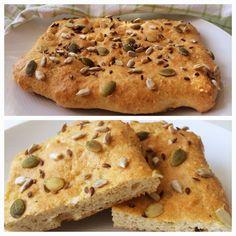 Glutenfria godsaker: Supersnabbt glutenfritt bröd Healthy Diet Recipes, Gluten Free Recipes, Bread Recipes, Cooking Recipes, Healthy Food, 400 Calorie Meals, Bread Baking, Banana Bread, Food And Drink