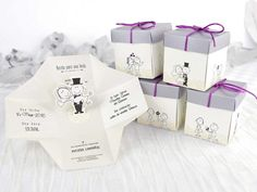 Invitatie de nunta Love Cube | Invitatii de nunta - Haioase