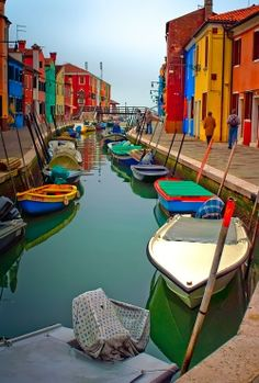 Bright Colors, Burano, Italy