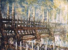 ocetos del arquitecto constructivista Yakov Chernikov (años 30):