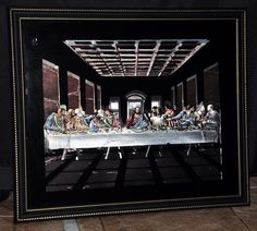 I want to get this picture of the last supper aluminum art piece