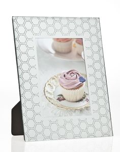 Honeycomb Glitter Picture Frame
