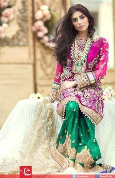 Sana Salman's Spring/Summer Couture Collection 2016