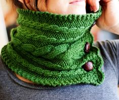Looking for your next project? You're going to love Ireland Neck Warmer (knit) by designer Kalurah Hudson.