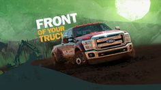 "In taking this graphic style and campaign even further, we've designed a world that harnesses the Super Duty's power, determination and strength. It's the kind of truck that champions through the hardest tasks with effortless ease. The graphics heroically celebrate how the Super Duty parallels the features that make a man a man – never quitting, giving up or going home without trying.  www.flavor.tv   ###  Project Name: 2015 Ford Super Duty ""Front and Back"" Spot Lengths: :30 Debut D..."