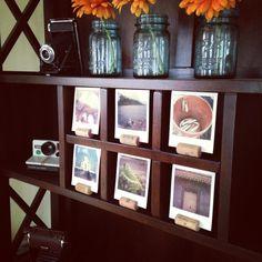wine corks make great polaroid holders. I'm taking credit for this idea. #polaroid
