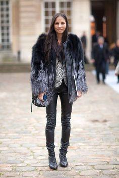 la modella mafia Fall 2014 fashion editor street style - Melanie Huynh