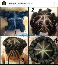 Hair ideas for school kids girls daughters 28 new Ideas, - Little black girl hairstyles Black Kids Hairstyles, Cute Braided Hairstyles, Girls Natural Hairstyles, Baby Girl Hairstyles, Easy Hairstyles For Long Hair, Hairstyles For School, Natural Hair Styles, Children Hairstyles, Sweet Hairstyles