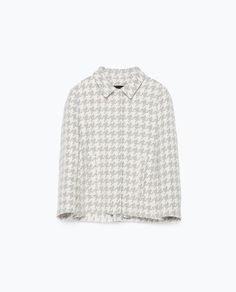 ZARA - NEW THIS WEEK - HOUNDSTOOTH BLAZER
