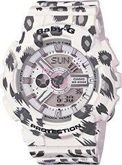 Baby-G White BA110LP-7A