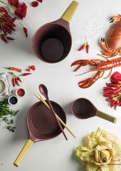 Afrodite by Tvs Cookware Collection Design: Monica Albini, Cara Judd, Benedetta Leonardi