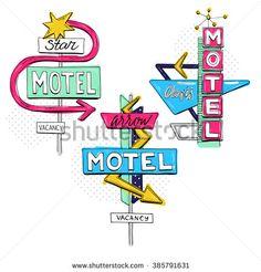 stock-vector-vector-sketch-set-with-motel-sign-retro-sign-pointer-vintage-billboard-bright-signboard-vintage-385791631.jpg 450×470 Pixel