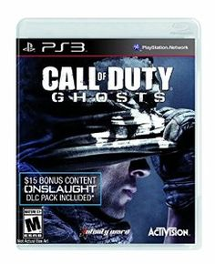 Call of Duty: Ghosts (Onslaught DLC Included) - #PlayStation3 - Includes Onslaught, the first DLC pack for Ghosts. Onslaught features four new multiplayer maps, The Maverick, an all new dual-purpose Assault Rifle/Sniper Rifle and Extinction Episode 1: Nightfall, the first of a four part episodic series. Onslaught DLC code will be delivered via email within 48 hours of shipment.