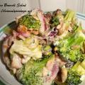 Linked to: heavenlysavings.net/2013/07/bacon-broccoli-salad-great-for-family-bbqs/