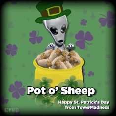 Happy St. Patrick's Day from TowerMadness