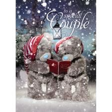 Special Couple Me to You Bear Christmas Card